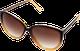 Pull and Bear, brązowe okulary