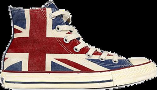 converse z flagą UK z Buty Stylistki.pl