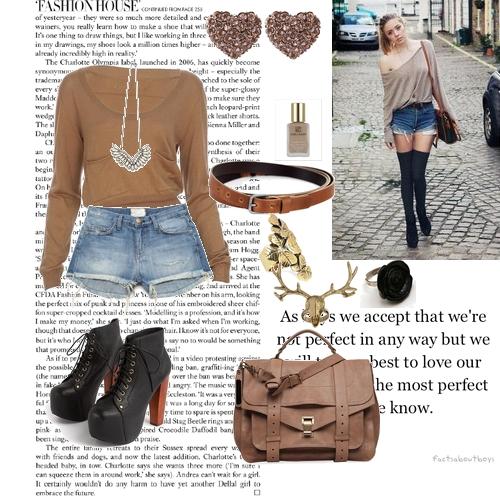nude + jeans