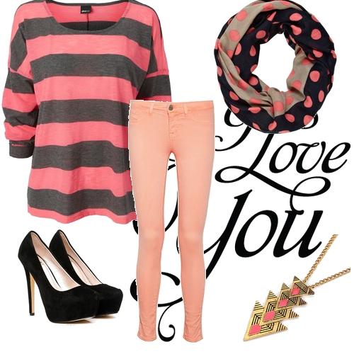 pink. black. grey.