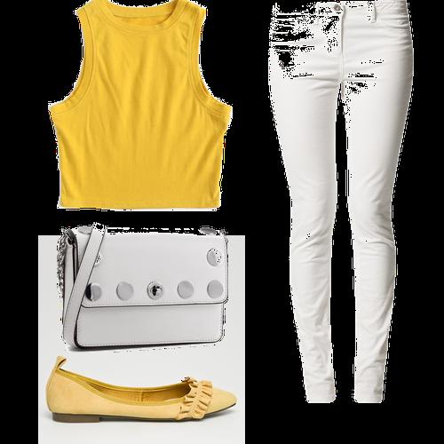 Creamy whit White