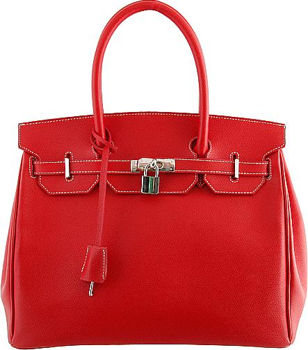 Torebka Prima Moda w stylu Birkin Bag firmy Hermes