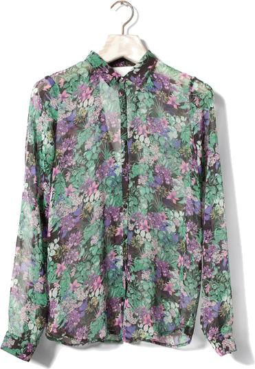 Elegancka koszula z szyfonu