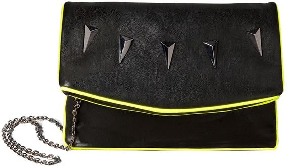 Kopertówka z neonową lamówką