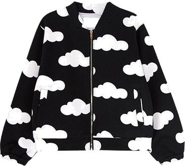 Fashion Cloud Graphic Jacket