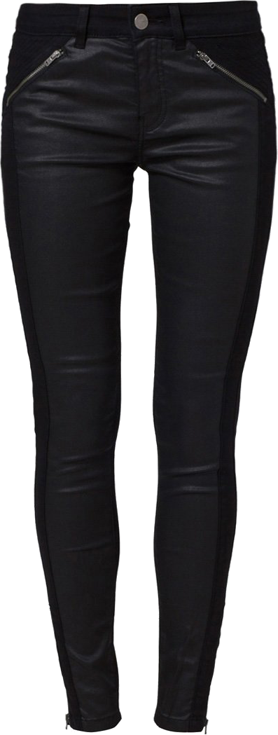 TARA - Jeansy Slim fit - czarny