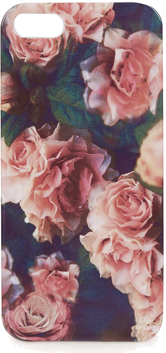 Rose Print iPhone 5 Shell