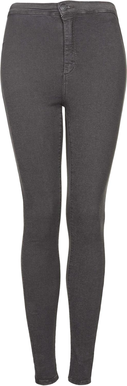 MOTO Grey Joni High Waisted Jeans