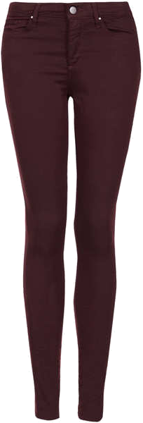TOPSHOP MOTO Aubergine Leigh Jeans