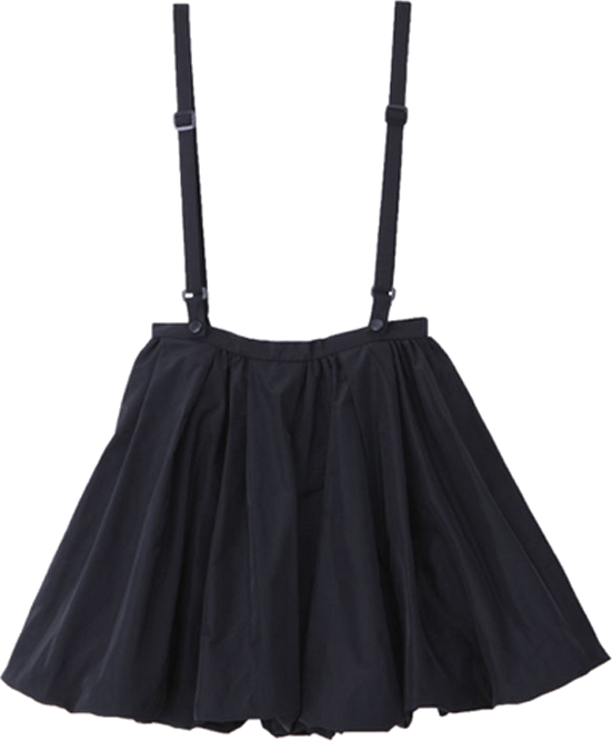 Skirt with Detachable Shoulder Strap