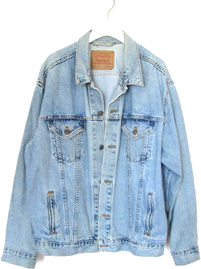 90's Grunge Levi's Denim Jacket