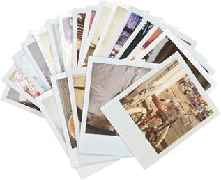 Polaroid Love' Note Cards
