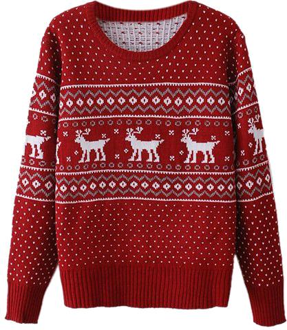 sweter świąteczny ♥