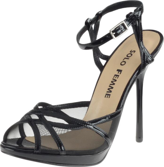 Sandały Solo Femme 12405 - Czarne 01/B48