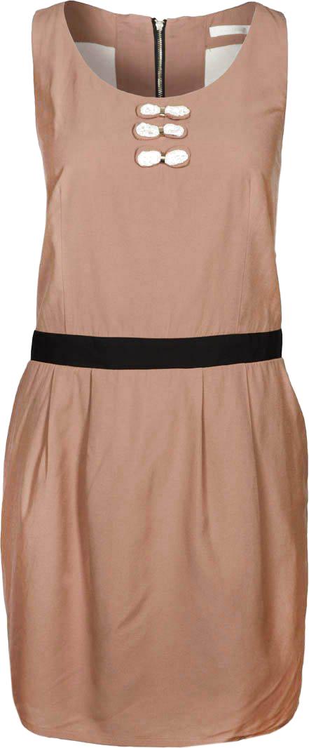 Sukienka letnia - brązowy