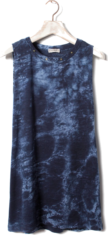 Pull & Bear Tie Dye Top