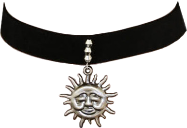 Sad Sun Necklace