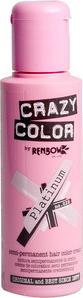 Crazy Colour Platinum hair dye, semi permanent dye, grey colouring UK