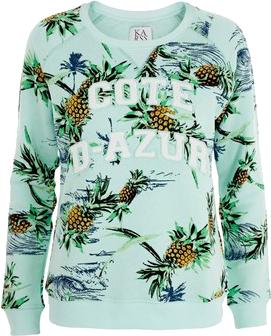 Zoe Karssen Paradise Loose-Fit Sweatshirt as seen