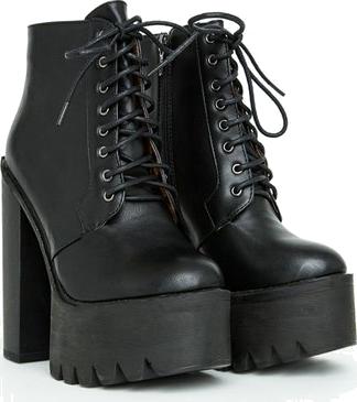 black shoes monhina
