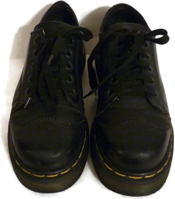 Dr. Marten's Oxfords Leather Boots Black