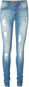 jeans z dziurami
