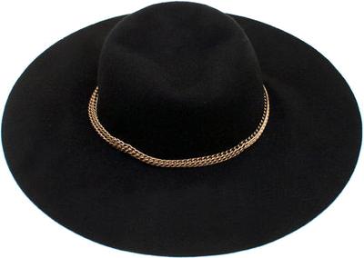 Chain Trim Floppy Hat