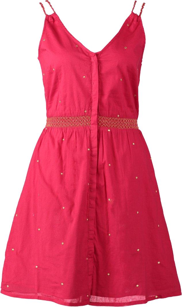 NAF NAF WEN Sukienka letnia czerwony
