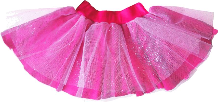 Spódniczka tiulowa w trzech kolorach