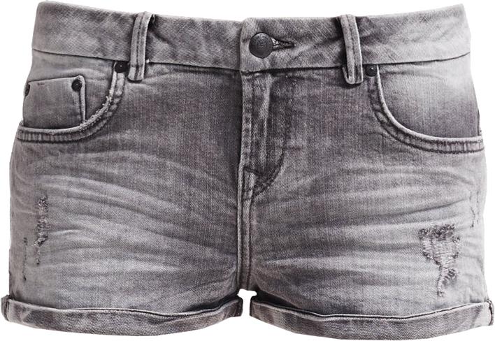 LTB JUDIE Szorty jeansowe wolf grey wash
