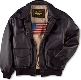 Air Force A-2 Flight Leather Bomber Jacket