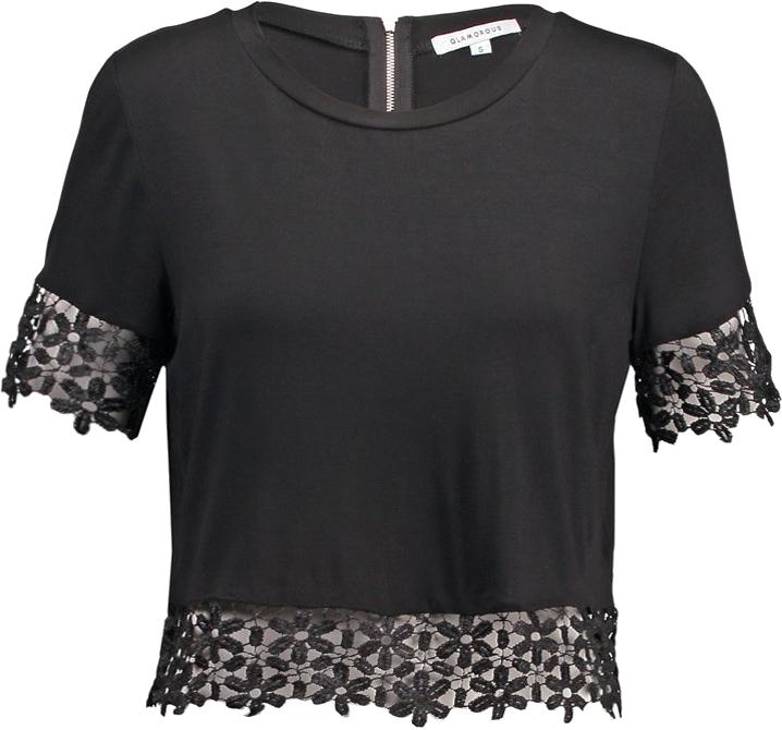 Glamorous Tshirt basic black