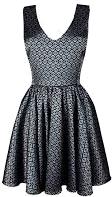 Sukienka srebrna