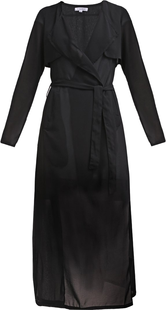 Glamorous Płaszcz wełniany /Płaszcz klasyczny black