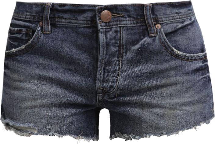 Free People Szorty jeansowe royal wash
