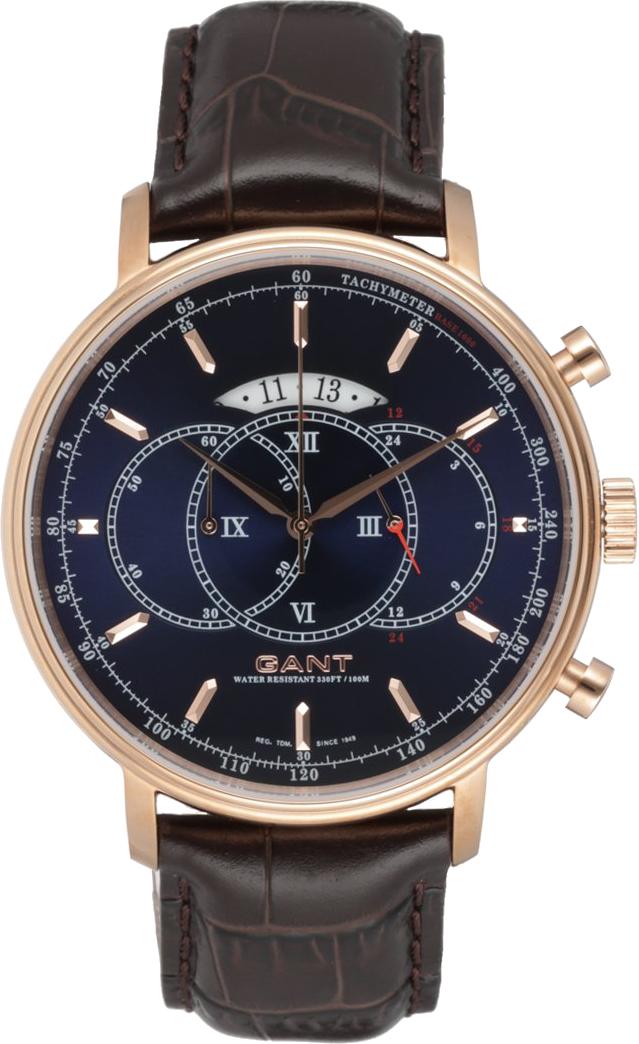 Gant CAMERON Zegarek chronograficzny roségoldfarben/braun