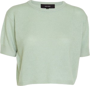 sabel Marant Chai short sleeve cashmere sweater