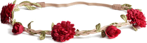 ☾H&M Hairband with flowers☽
