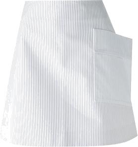 Jacquemus oversized pocket striped skirt