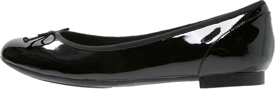 Clarks COUTURE BLOOM Baleriny black