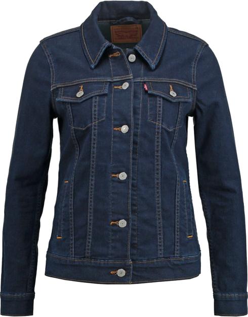 Levi's® BOYFRIEND TRUCKER Kurtka jeansowa rinse trucker