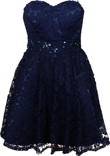 7f9d33d8c4 Sukienka Cecylia granat
