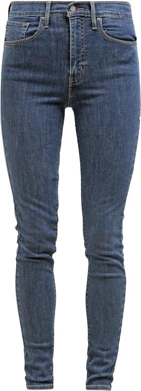 Levi's® MILE HIGH SUPER SKINNY Jeansy Slim fit blue mirage