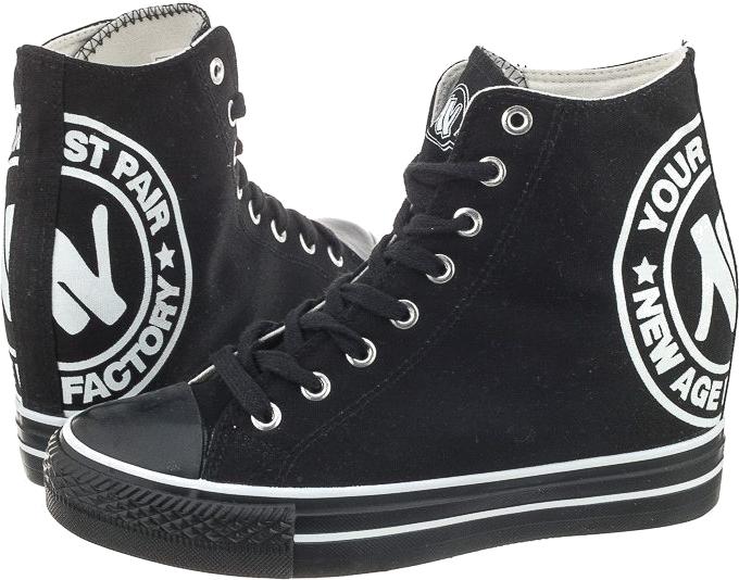 Czarne 022 Black (NA87-a)