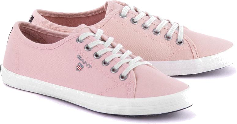 New Haven - Różowe Canvasowe Trampki Damskie - 12538062 G57