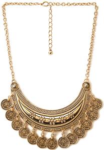 Boho Coin Necklace