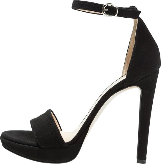 Zalando Shoes Sandały na obcasie black