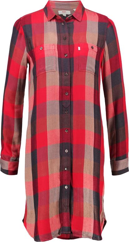 Levi's® Sukienka koszulowa sumac tango red