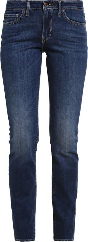 Levi's® 714 STRAIGHT Jeansy Straight leg darkblue denim