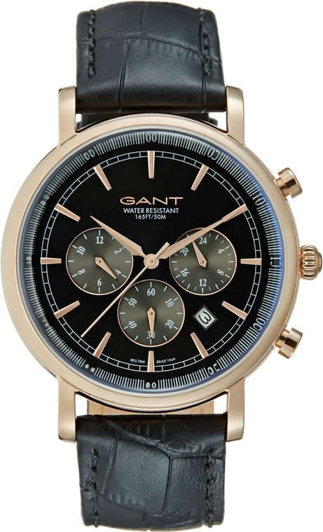 GANT BALTIMORE Zegarek chronograficzny black